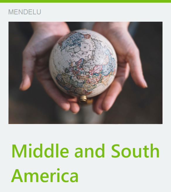 bilateral mobilities Middle and South America
